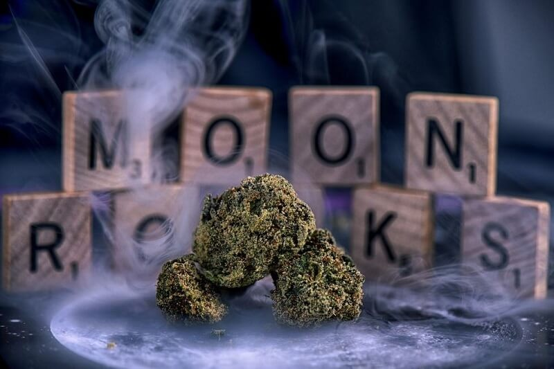 what are moon rocks 1