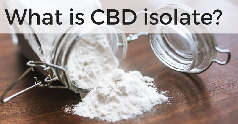 What is CBD isolate 1